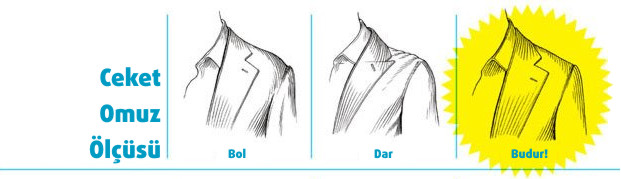 Takım Elbise Ceket Omuz Ölçüsü