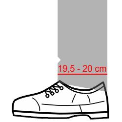 Modern pantolon paça boyu
