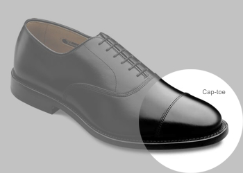 Ayakkabı modelleri - Cap toe