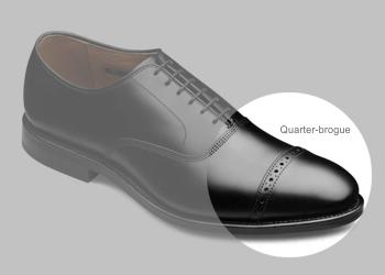 Ayakkabı modelleri - Quarter-brogue