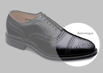 Ayakkabı modelleri - Semi-brogue