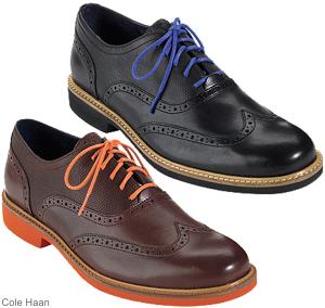 Cole Haan kahverengi-lacivert-yeşil ayakkabı