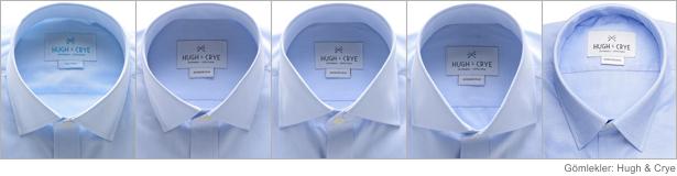 Gömlek Yaka Çeşitleri - Düz Yaka