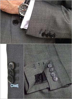 Ceket İşlevsel Kol Düğmesi