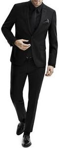 Tamamen Siyah Takım Elbise