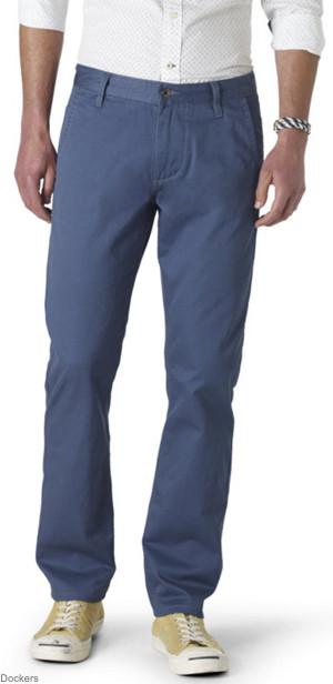 Chino Pantolon - Mavi