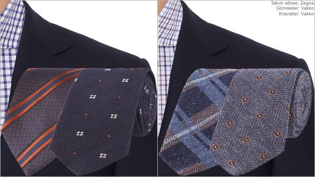 Renk Kombinasyonu - Lacivert &  Kareli Gömlek