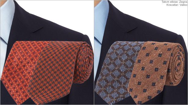 Renk Kombinasyonu - Lacivert, Turuncu & Kahverengi